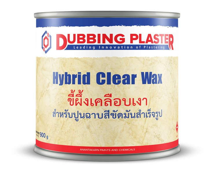 Hybrid-Clear-Wax-Dubbing-Plaster